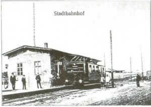 1. Stacja Wąbrzeźno Miasto w 1910 roku