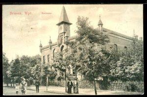 Wąbrzeźno, Ratusz - 1915 r